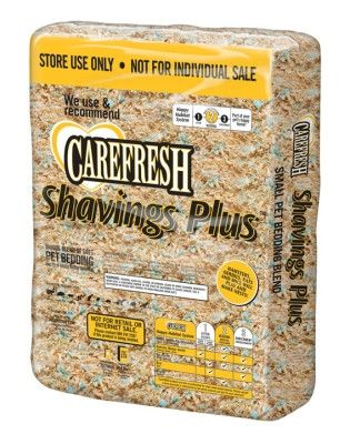 SMALL ANIMAL - BEDDING - CAREFRESH SHAVINGS PLUS - 10LB - HEALTHY PET - UPC: 66380002621 - DEPT: SMALL ANIMAL PRODUCTS