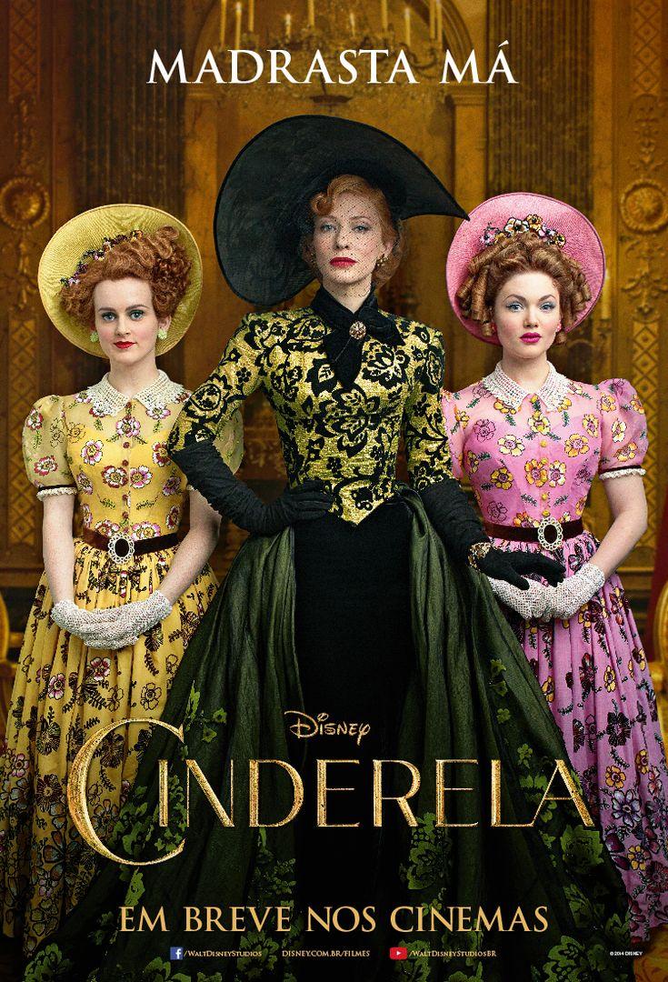 """Pôster novo de """"Cinderela"""" + prints do trailer que não conseguimos parar de babar até agora"""