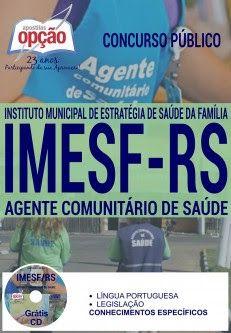 NewsApostilas : Apostila Concurso IMESF RS 2016 (ATUALIZADA)