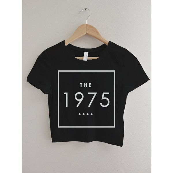 The 1975 Band Crop Top T-shirt Hipster Tee Tshirt Logo - Matt Healy -... (€16) ❤ liked on Polyvore featuring tops, t-shirts, shirts, crop, crop top, hipster tees, crop tee, cotton logo t shirts and cotton logo shirts