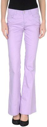 GUESS BY MARCIANO Casual pants - Shop for women's Pants - Lilac Pants