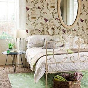 vintage style: Decor, Interior Design, Wallpapers, Bedrooms, Bedroom Designs, Bedroom Ideas