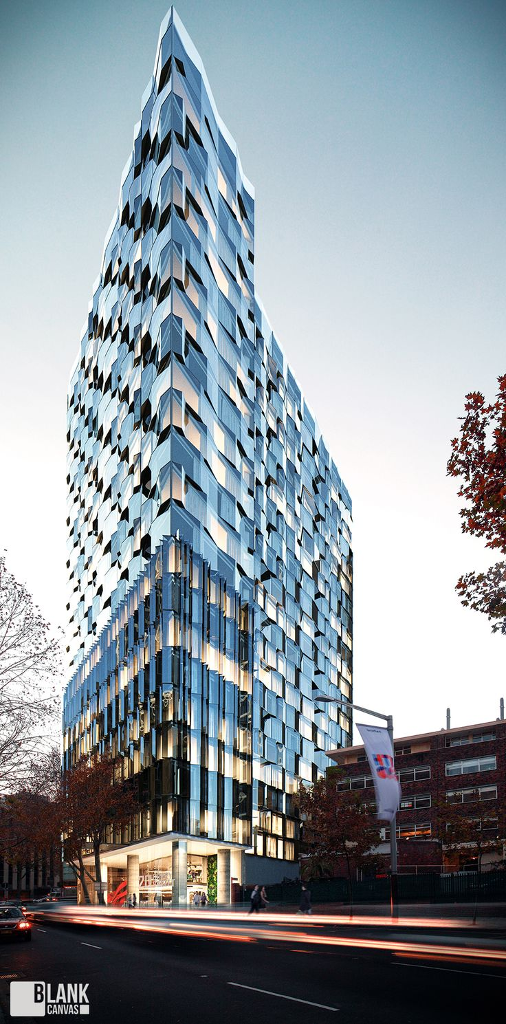Residential Tower on Behance