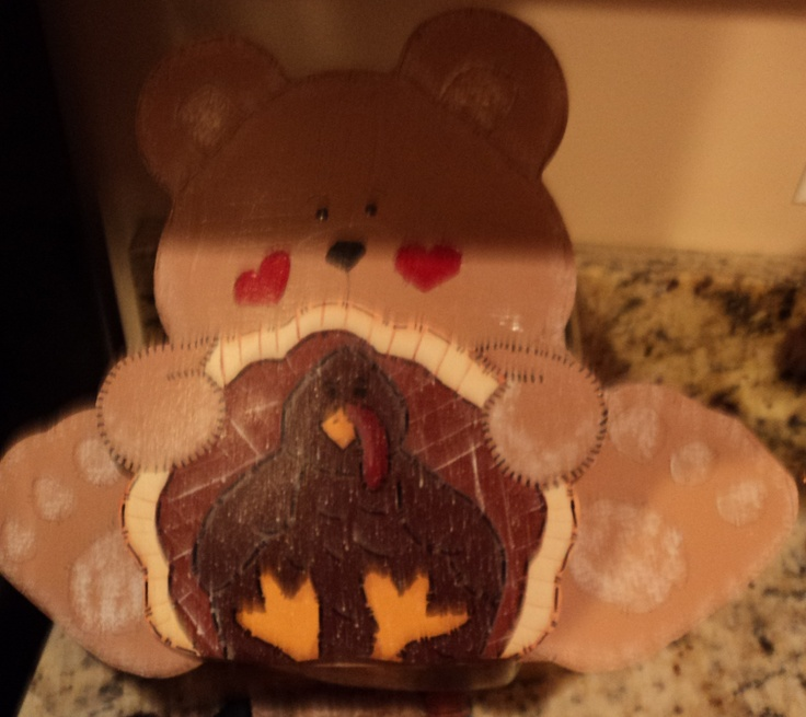 Bear Turkey Candy Jar Lid: Bears Turkey, Turkey Candy, Jar Lids, Candy Jars, Jars Lids