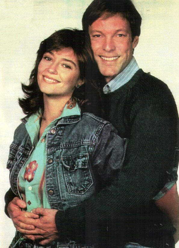 "Richard Chamberlain & Rachel Ward starred in the television mini-series ""The Thornbirds"""