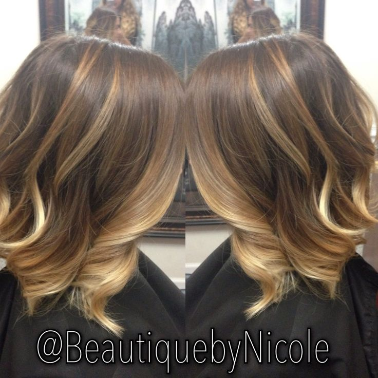Caramel Ombre Balayage On Long Bob Quotlobquot Balayage Ombre Longbob