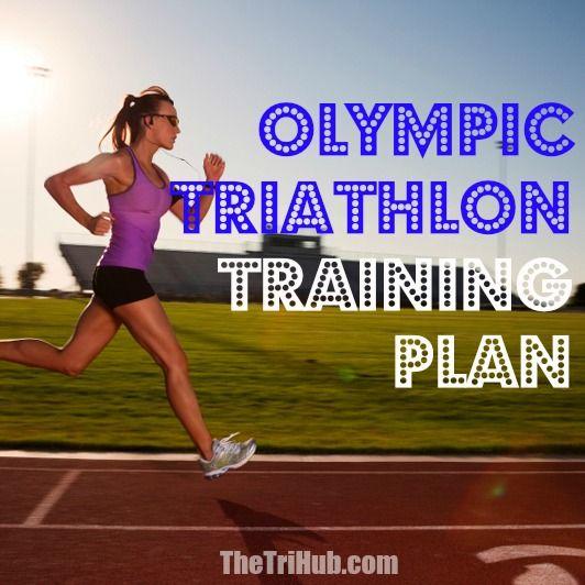 Olympic Triathlon Training Plan http://thetrihub.com/olympic-triathlon-training-plan/