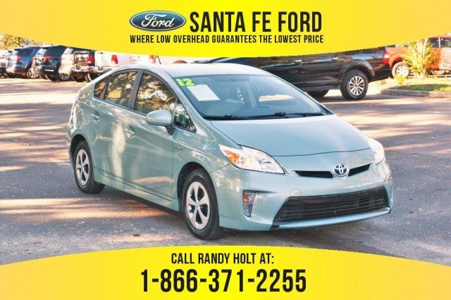 2012 Green Toyota Prius One Automatic Gas Electric I4 1 8l 110