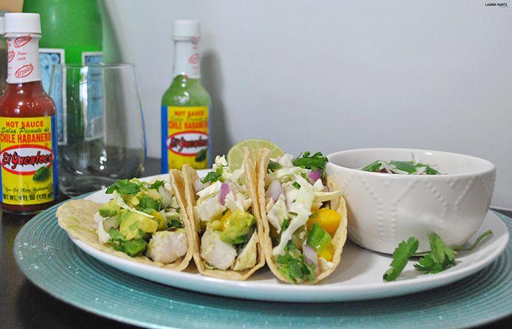 Tropical + Spicy Mahi-Mahi Cabo Tacos with El Yucateco