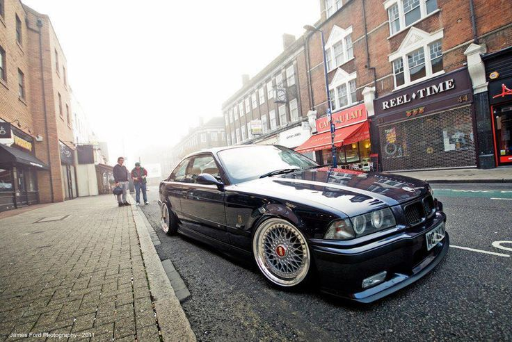 bmw with bbs german look e36 e36 pinterest bmw 3. Black Bedroom Furniture Sets. Home Design Ideas