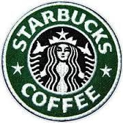 """Who gives a shit if you think I'm basic, I will drink Starbucks if I want to. I will never turn my back on the queen of coffee! Decorate your backpack, denim jacket, army jacket, or jeans. 3"""" green St"""