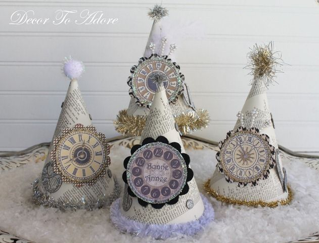vintage hats to welcome the new year