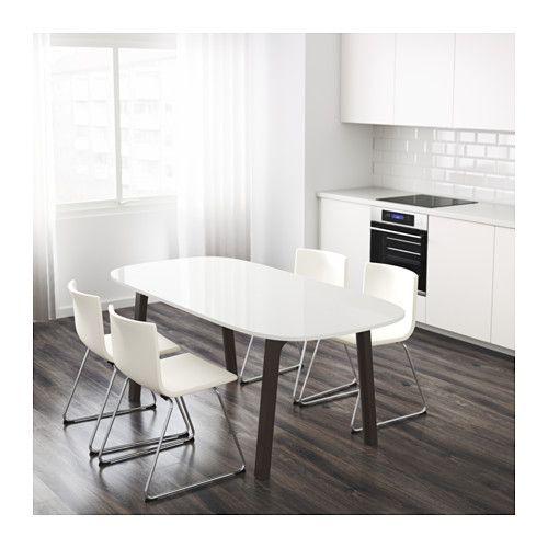 For Bistro Tables OPPEBY Table - Västanå dark brown - IKEA