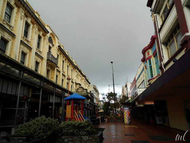cuba street, wellington new zealand
