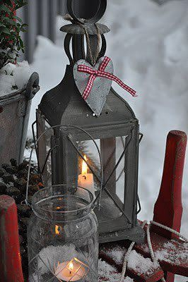 Outdoor Cabin Warmth duh you have a red one in the basement and silver too