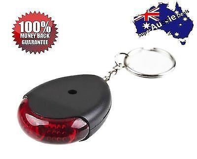 Key Finder Locator Keychain Key Chain Locater Mini - Black