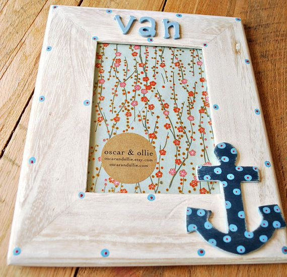 Hey, I found this really awesome Etsy listing at https://www.etsy.com/listing/81584047/personalized-anchor-frame-or-mirror-by