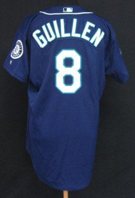2002 Seattle Mariners Carlos Guillen #8 Game Issued Alt Jersey 25th Ann Patch - Game Used MLB Jerseys by Sports Memorabilia. $198.72. 2002 Seattle Mariners Carlos Guillen #8 Game Issued Alt Jersey 25th Ann Patch