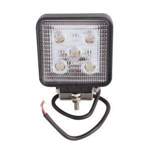 2pcs 15w LED Work Light Worklight Bright White 12V 4WD