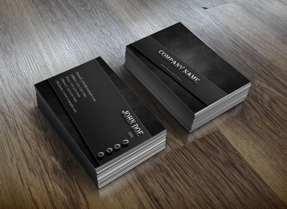 a Creative business card design with a simplistic look and an elegant design.