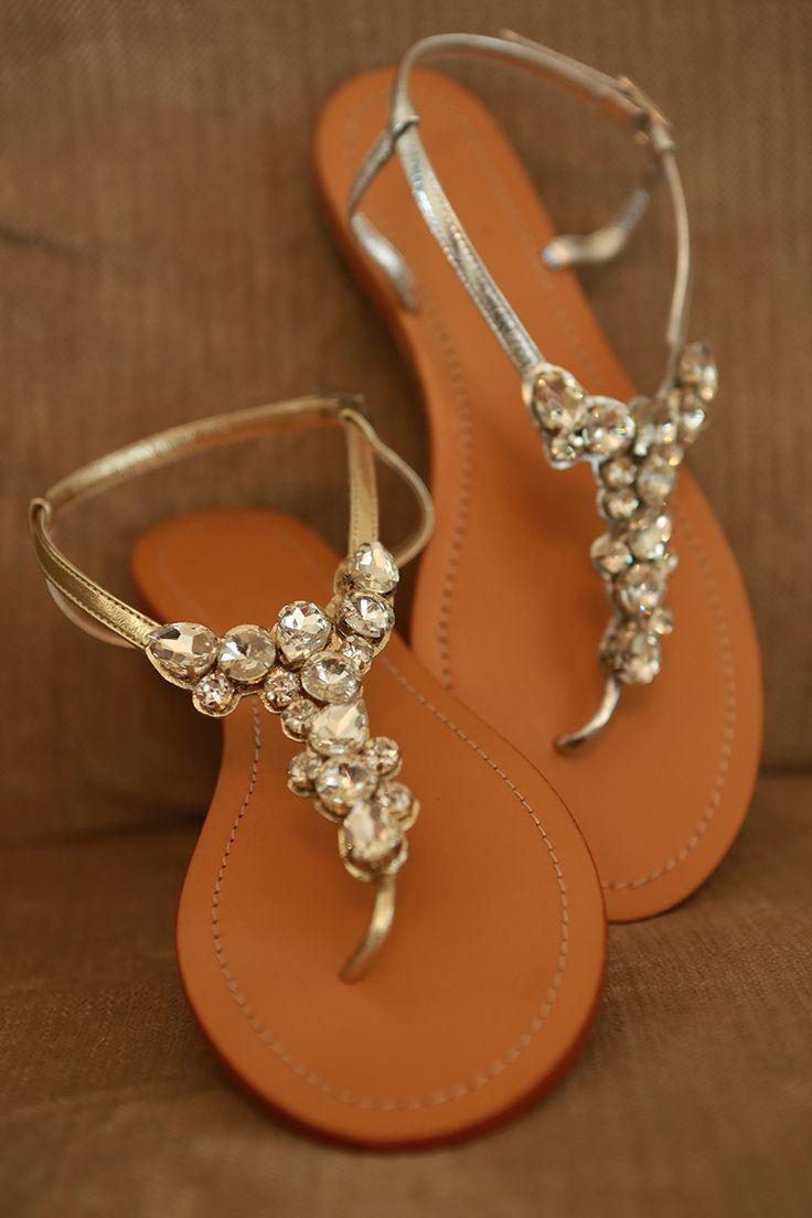 Amber Gold Embellished Leather Sandals RRP $139.00 Sizes 35 - 42 www.jamjam.com.au