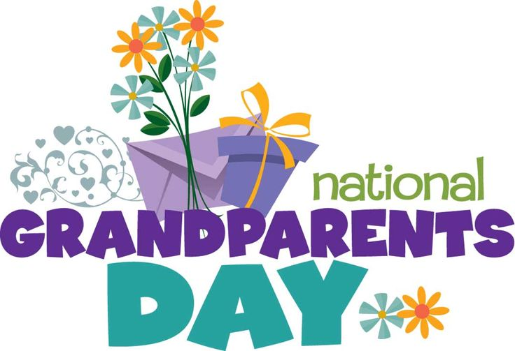 Happy Grandparent's Day! Be sure to remember and thank those special ones in your life today!