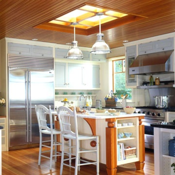 Pendant Hanging from Skylights