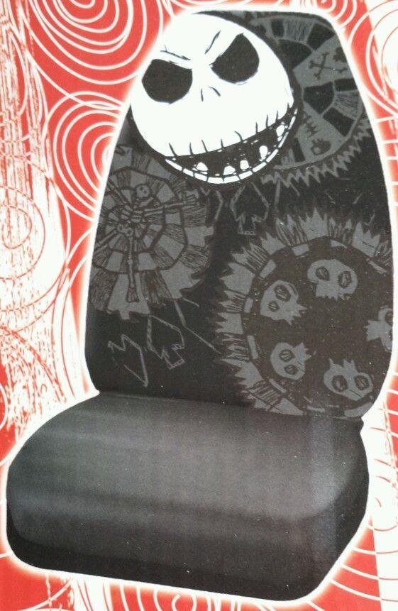 Prime 8Pcs Nightmare Before Christmas Jack Bones Car Truck Seat Machost Co Dining Chair Design Ideas Machostcouk