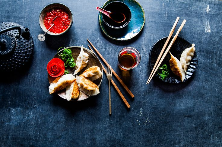 Dumplings are not just about the filling - that's only half of it. They're also about how delicious the wrapping is. I like to make dumpling skins from scratch because you get a nice chewiness and they melt in the mouth more.