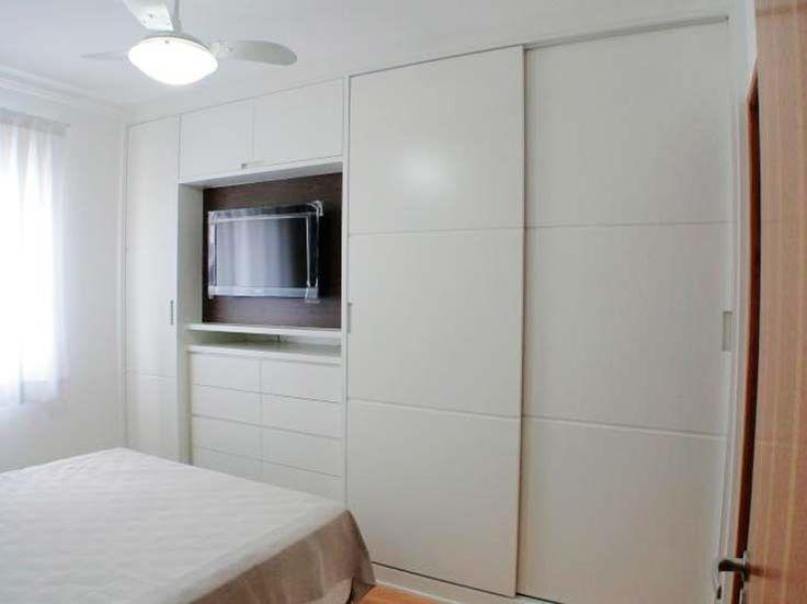 decoracao de apartamentos pequenos quarto casal:Apartamentos pequenos: 320 projetos de profissionais de CasaPRO – Casa