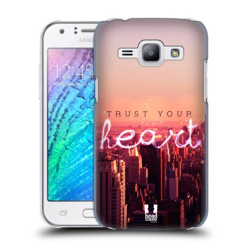 Pouzdro na mobil Samsung Galaxy J1 HEAD CASE TRUST YOUR HEART