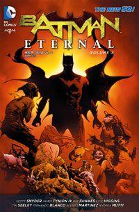[배트맨 이터널 3]  단연코 이제까지 본 배트맨 시리즈 중에 최고라고 손꼽을 만 하다. 배트맨과 빌런들의 전면전이라 할만큼 다양한 캐릭터들과 사건들이 등장하면서도 그것들을 모두 아우르는 하나의 거대한 사건이 진행되는 모습은, 그야말로 '서사시'를 방불케 한다. 이정도로 캐릭터와 사건이 많으면 DC나 마블 시리즈의 특성 상 예전 사건들을 모르면 이해하기 힘든 경우가 많은데, 이 시리즈는 그런 부분도 거의 없었다. 배트맨 특유의 느와르적인 분위기와 미스테리, 그리고 액션이 적절히 조합된 완벽에 가까운 시리즈.