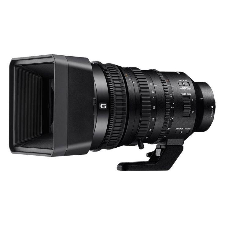 Sony - 18-110mm f/4.0 PZ G OSS Optical Zoom Lens for Sony E-mount - Black
