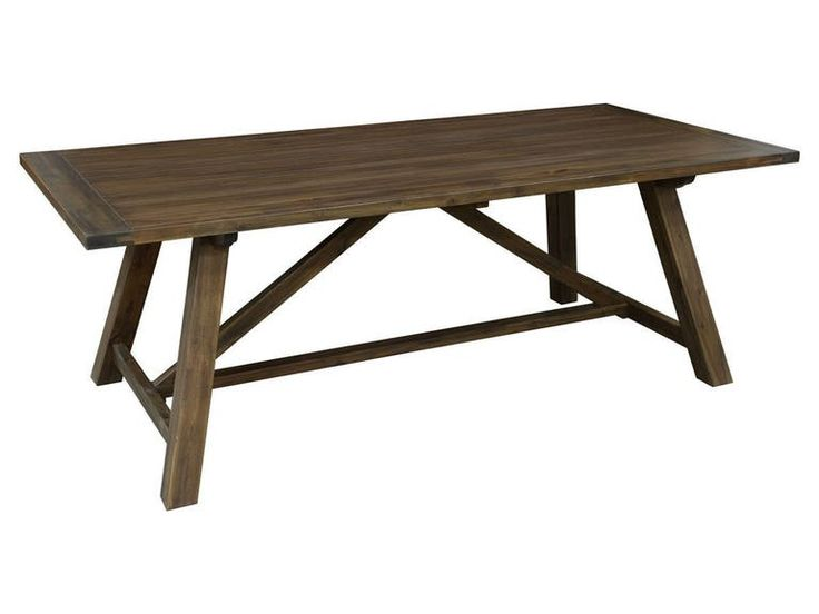 17 Best Ideas About Rectangle Dining Table On Pinterest Farm Style Table D