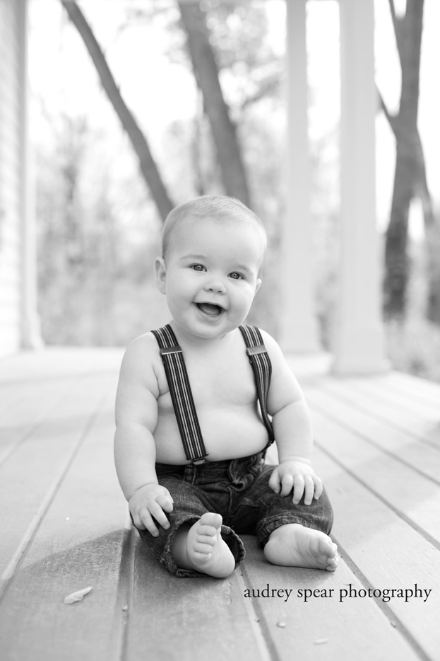 6 month photo session for baby boy  Audrey Spear Photography {San Francisco Child Photographer}