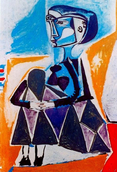 cubism in les demoiselles davignon an oil painting by pablo picasso Pablo picasso's 'les demoiselles d'avignon', from the edited h2g2, the unconventional guide to life, the universe and everything.