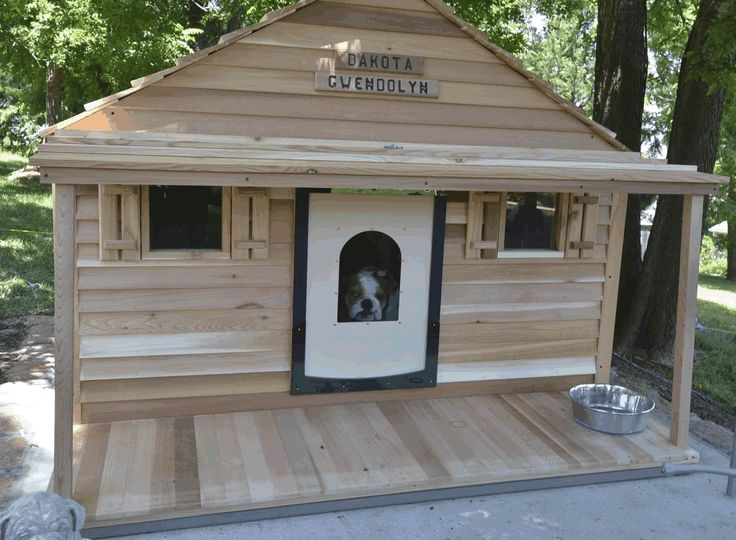bad ass dog house you can even install central air and heat my. Black Bedroom Furniture Sets. Home Design Ideas