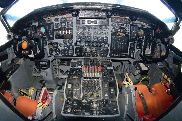Xb 70 Cockpit Amp Instrument Panels North American Xb 70a