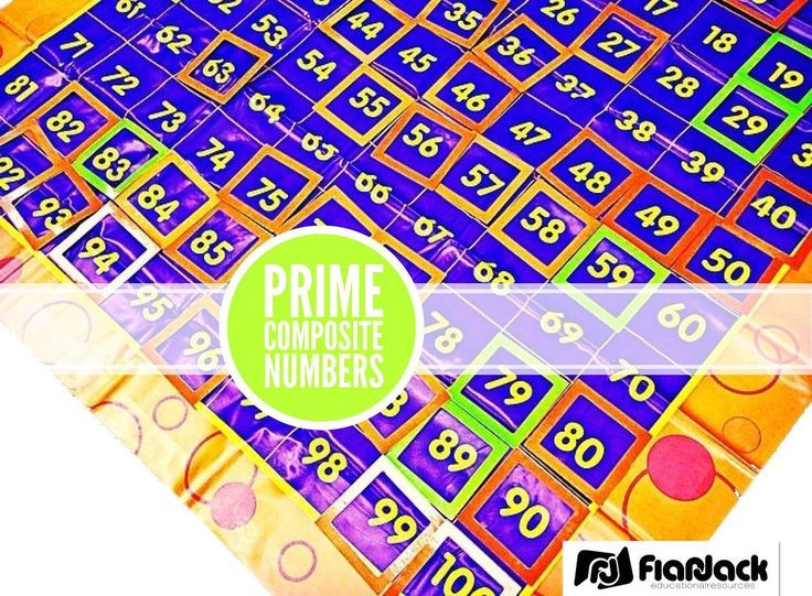 Have a 100s chart mat? It makes a great review for prime and composite numbers too!