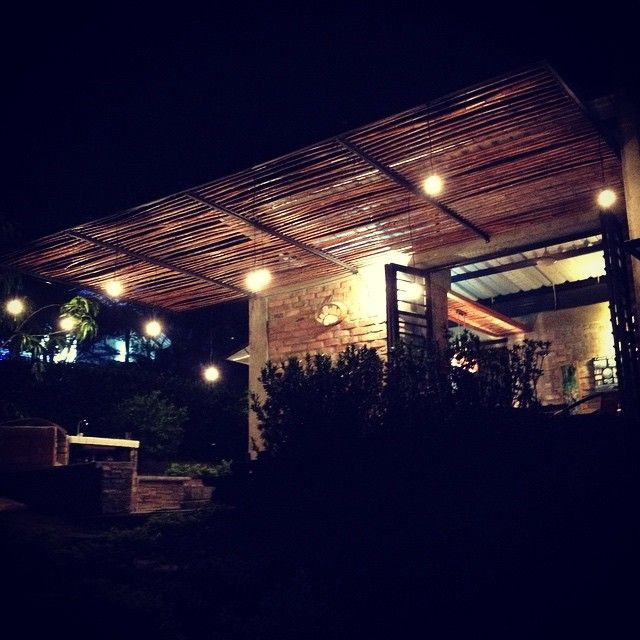My lovely place  #countryside #home #night #lights