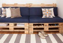 Crea un divano fai da te con il tuo vecchio materasso