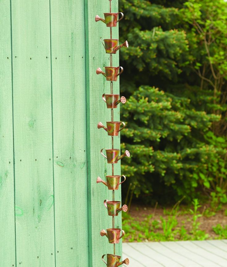Flamed Watering Can Rain Chain 25 best