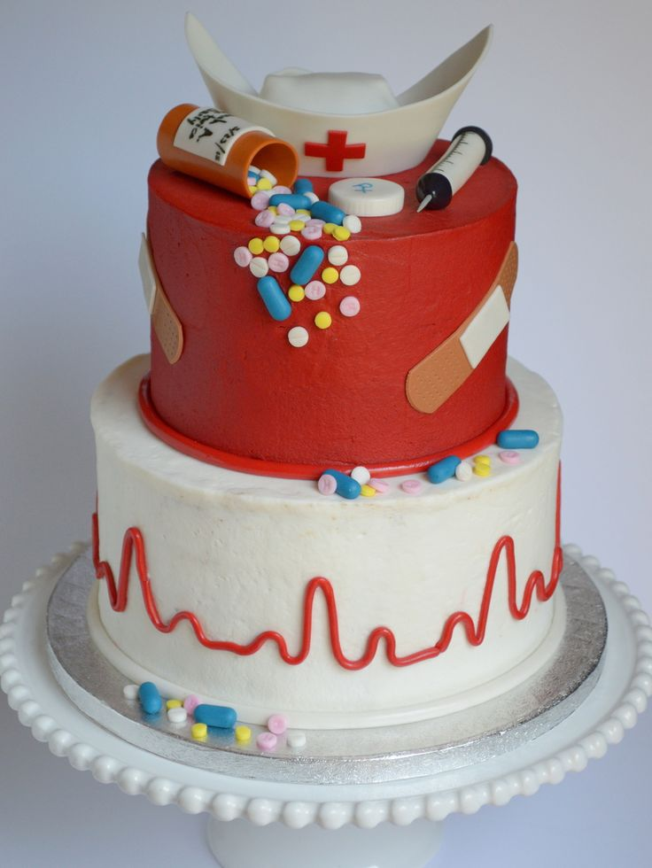 387 best Cakes and Cookies for Nurses images on Pinterest