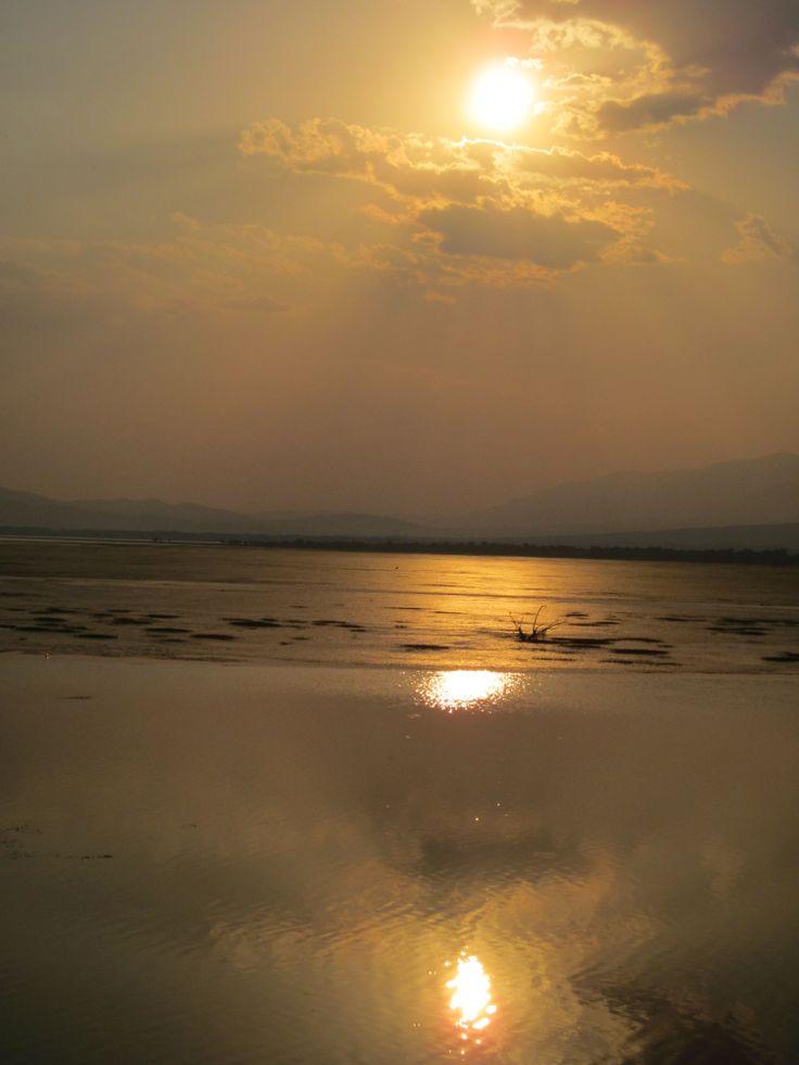 Sunset in Kerkini