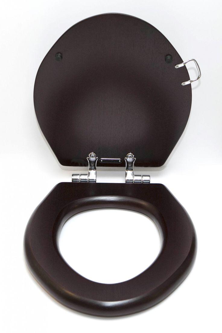 Best  Wooden Toilet Seats Ideas On Pinterest Rustic Toilet - Soft close wooden toilet seat