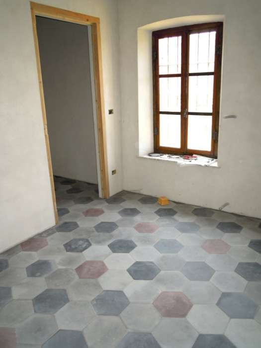 Mattonelle esagonali pavimenti nh69 regardsdefemmes - Posare piastrelle su piastrelle ...