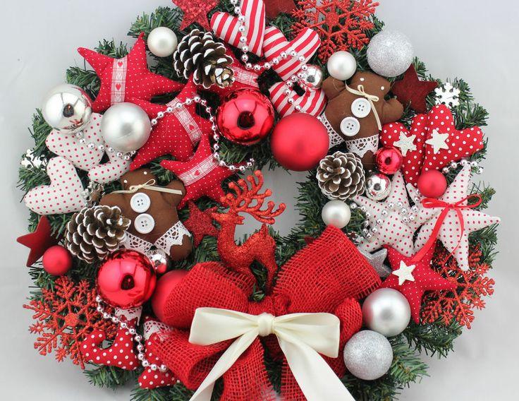 xxl t rkranz kranz weihnachten advent zuckerstangen herz. Black Bedroom Furniture Sets. Home Design Ideas