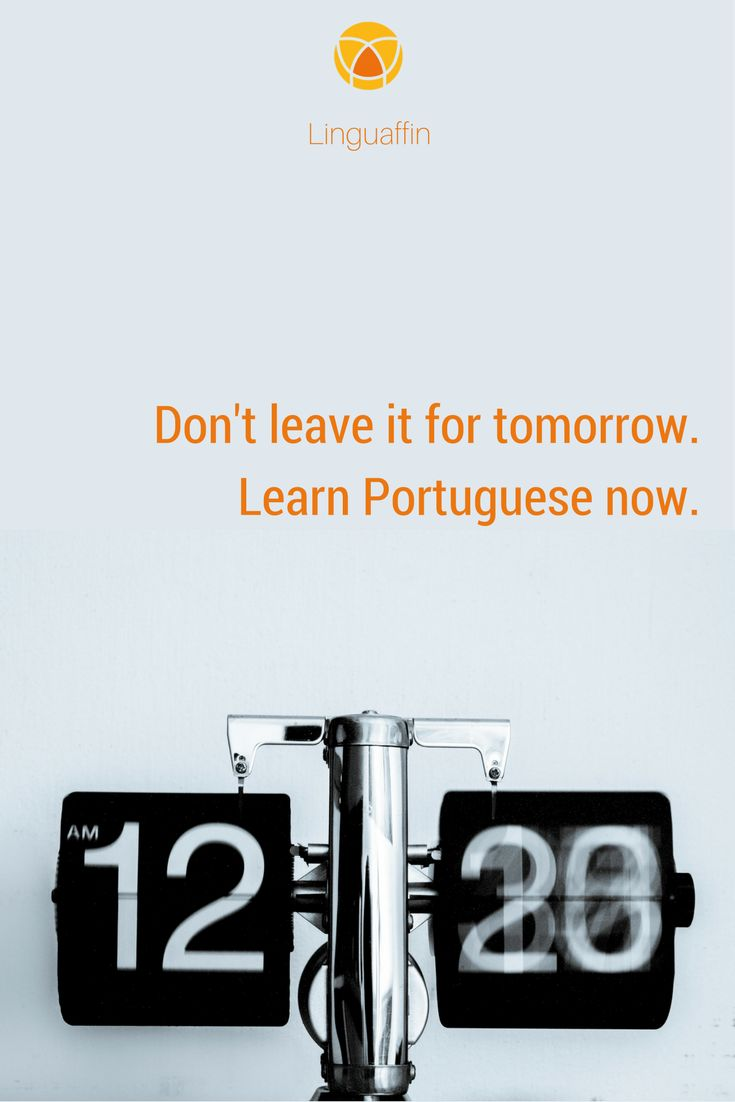 Free time over the Summer? It's a good time to start learning a new language. Join our quick #Portuguese courses!