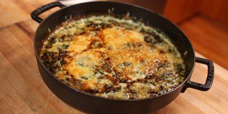 Spinach Gratin -Chuck Hughes recipe