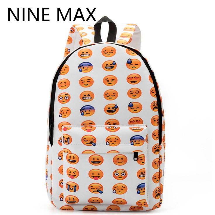 Cheap backpack travel, Buy Quality bag mini directly from China backpack baby bags Suppliers:  HotRecommendation!     Fashionablestyle! Bestprice!   New 2016 Women Emoji Printing